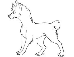 Dog- Inked Lines by CopperFishy