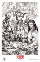 Marc Silvestri Cyber Force litho by TopCowOfficial