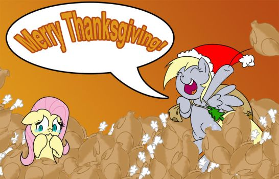 A very Merry Thanksgiving by extremeasaur5000