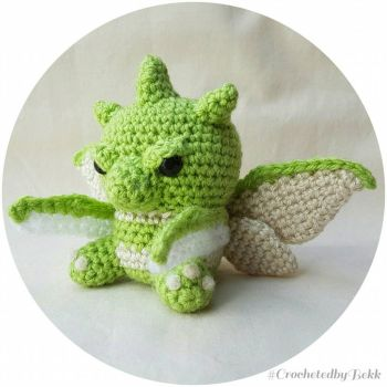 Scyther the Mantis Pokemon!  by CrochetedbyBekk