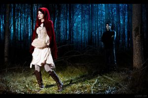 Little Red Riding Hood by sadsolitude