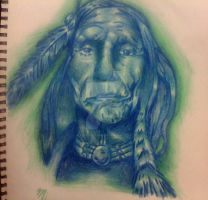 North American Indian by elliotpoison