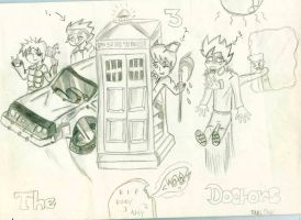 The Three Time-Travelling Doctors *SPOILERS DW* by Twerka-Trever