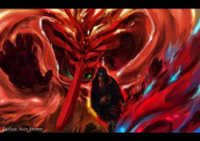 BA03 March 12 Itachi and Susano by herionz