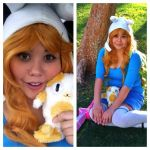 Fionna cosplay pics by Zamiiz