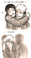 By your side - Jean Marco, Shingeki no Kyojin by EriKooriKo