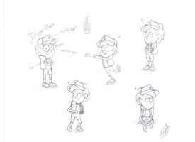 First Attempt: Dipper Pines by KittyCatAddict
