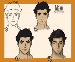 Step By Step Mako by corazongirl