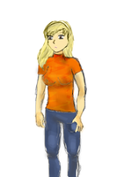 What would Heather Mason look like with long hair by Dresoria