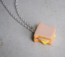 Sandwich Necklace by ClayRunway
