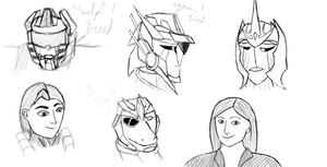 Headshot meme thingy -Sketch 16 by Redrosesforever