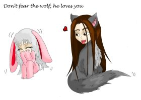 Dont Fear The Wolf by Haoxannaxyoh