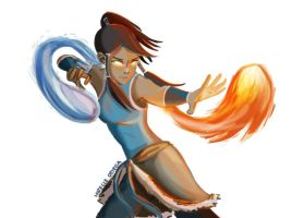 Legend of Korra by illustrationrookie
