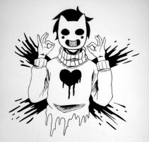 OFF - zacharie by carefreemouse15