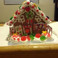 Mickey And Minnie Gingerbread House Pic 1 by invaderjade1