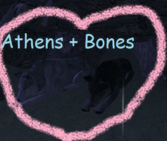 Athena and Bones2 by Patchheart