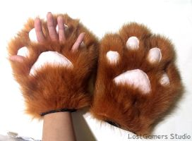 'Fingerless' or 'Escape' Paws [Demo] by TentacleLoveGoddess