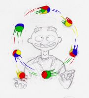 Chrome Juggling by ExcentricSketches4U