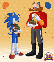 .:24th Anniversary:. by SonicWind-01