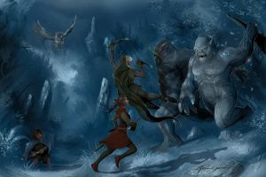 Trolls in Mirkwood by Shockbolt