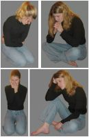 Series A of 4 Female Poses by FantasyStock