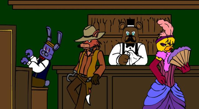 Fnaf Old West 1 by hykez87
