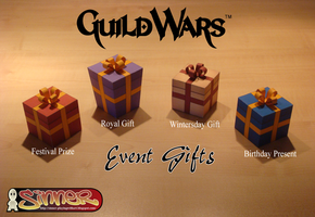 Guild Wars - Event Gifts Papercraft by Sinner-PWA