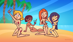 Great Day - Total Drama Spies by VaultMan