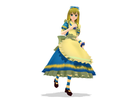 : MMD : Alice by PuniPudding
