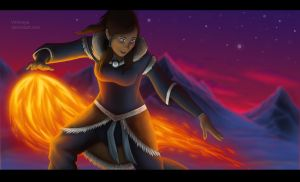 Legend of Korra - Fan Art [ Book 2] by VVemeya