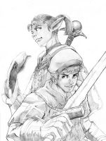 ffxi: heroes of san d'oria by beamer