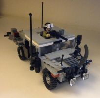 Lego Humvee by soldier2333