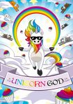 In The Unicorn God We Trust by Satanisapunk