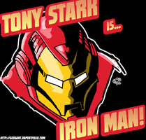 Tony Stark is Iron Man by geogant