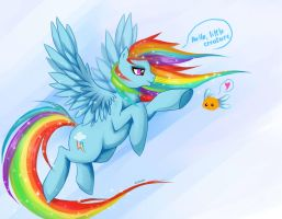 MLP Rainbow Dash by IIFOG