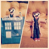 The Tenth Doctor Plushie by FallGirl