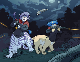 Phasers in the Jungle by TheTiedTigress