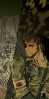 Snake MGS3 by dronio