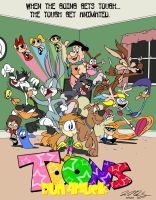 Toons Run Amuck by jbwarner86