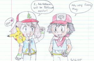 Chibi Adventures The New Ash by Agufanatic98