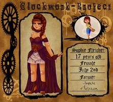 Clockwork-Project Application: Sophie by Shadowstar