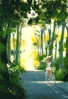 Spring Rides by PascalCampion
