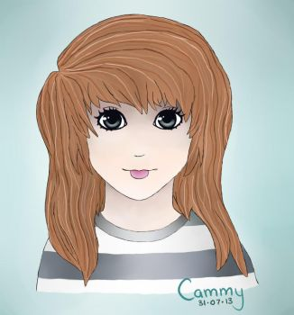 Self Portrait by cammy-was-here
