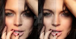 Lindsay Lohan Retouch by nokia6630videos