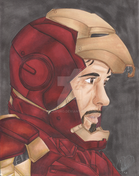 He is Iron Man by Kazekuro