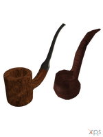 Smoking Pipes - HP and LP [XPS] by LexaKiness