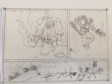 Scene 7 - The Blood Angels Push the Attack by Mrledward