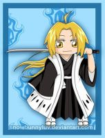 Ed- Bleach Shinagami by snowbunnyluv