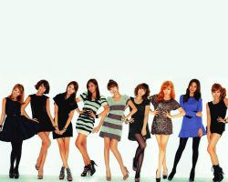 SNSD wallpaper 9. by NiiaChaan