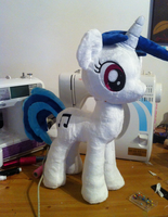 Vinyl Scratch DJ Pon3 WIP by Wild-Hearts